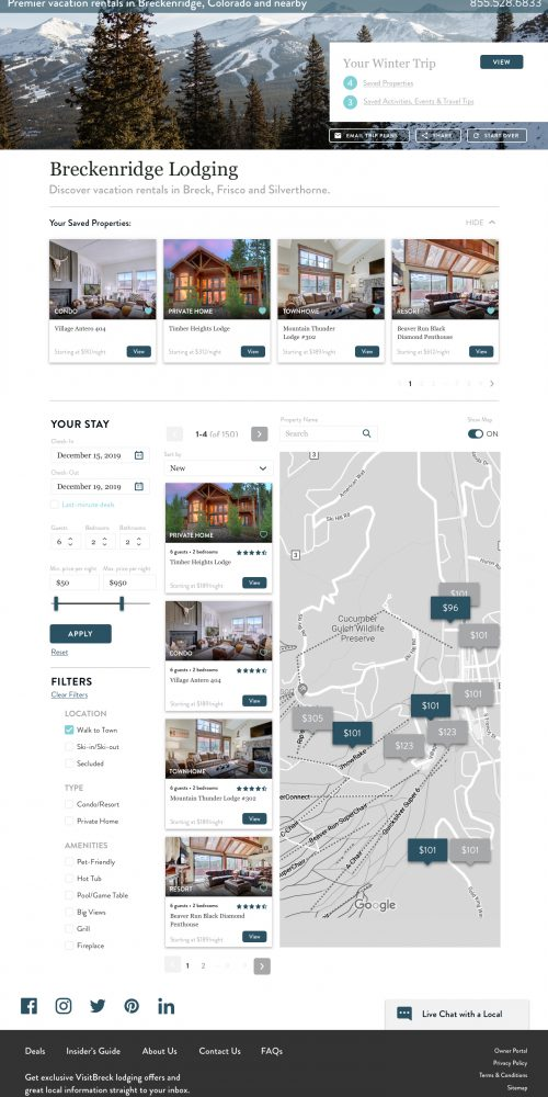 lodging search